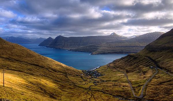 The Fjord From Eysturoy, Faroe Islands Photograph by Stéphanie Benjamin