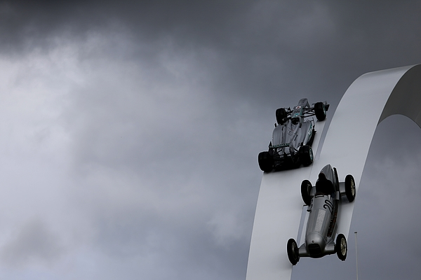 The Goodwood Festival of Speed - Day 2 Photograph by Andrew Hone