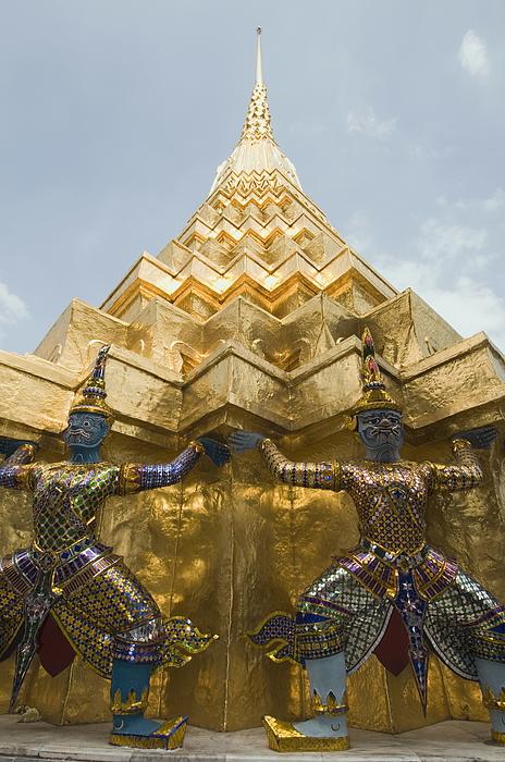 The Grand Palace, Bangkok, Thailand, Southeast Asia, Asia Photograph by Robert Harding / robertharding