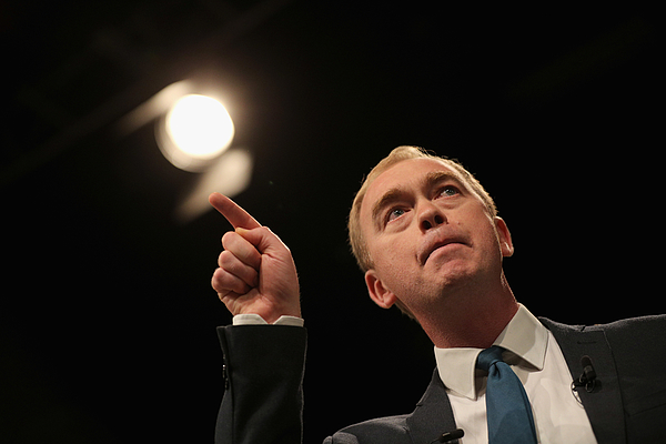 The Liberal Democrat Leader Addresses Party Conference Photograph by Dan Kitwood