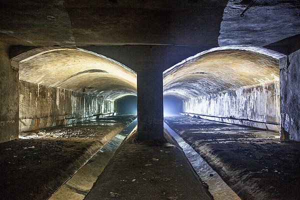The Old River Senne Tunnel Photograph by Mark Lovatt