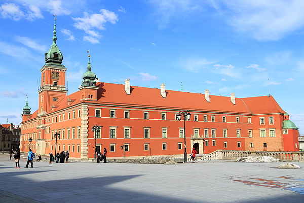 The Royal Castle Square, Warsaw Photograph by Pejft