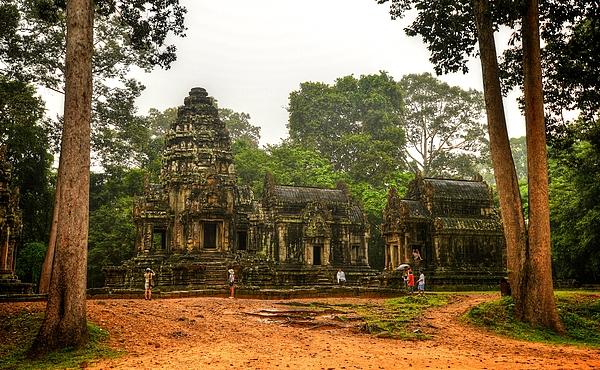 Thommanom, Siem Reap, Cambodia Photograph by Ashit Desai