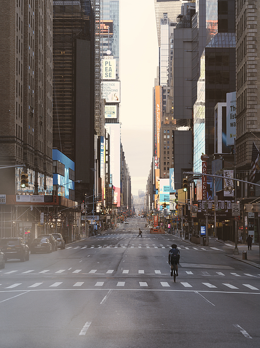 Times Square Photograph by Matt Henry Gunther