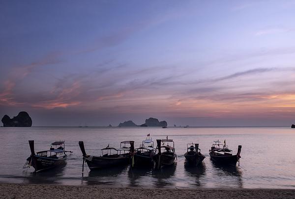 Tonsai Beach Sunset Photograph by Bernd Schunack