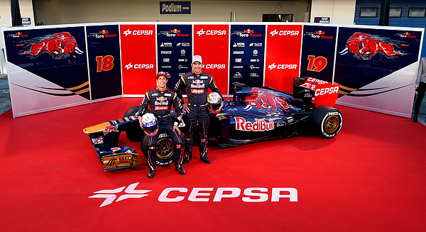 Toro Rosso F1 Launch Photograph by Peter Fox