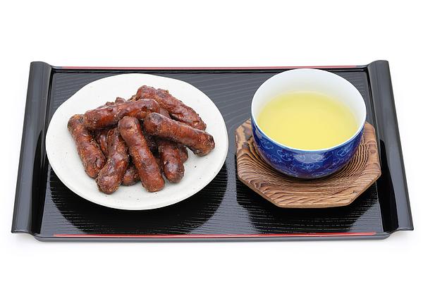 Traditional Japanese snack food, Karinto cookies Photograph by Akiyoko