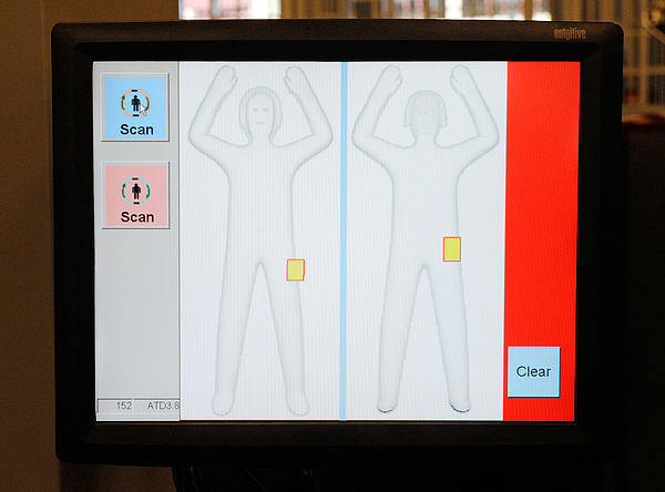 TSA Tests New Body Scanning Technology At Vegas Airport Photograph by Ethan Miller