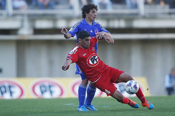 Ñublense v U de Chile - Torneo Apertura 2014 Photograph by Franco Moreno