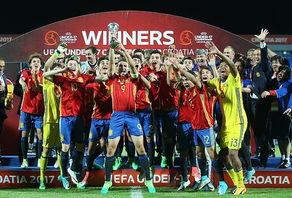UEFA U17 European Championship Final Photograph by Anadolu Agency