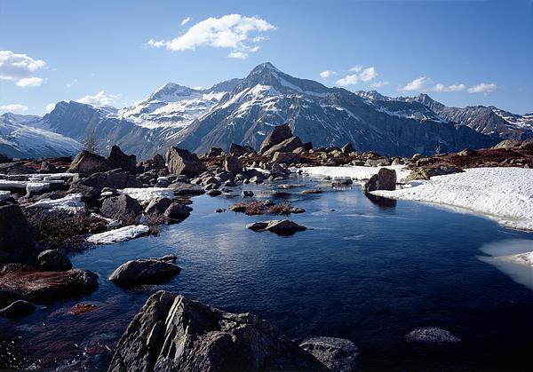 Unter Surettasee, Teurihorn Photograph by Miloniro
