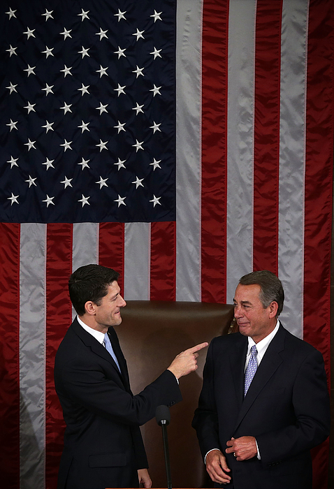 US House Of Representatives Votes To Elect A New Speaker Photograph by Alex Wong