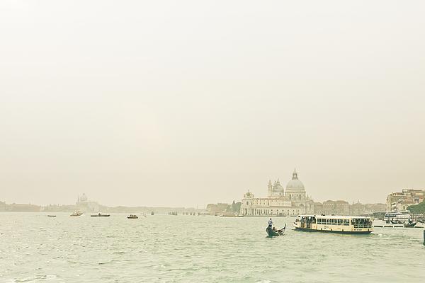 Venice in the Fog Photograph by Bernd Schunack