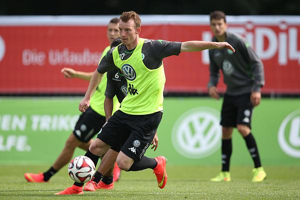VfL Wolfsburg - Bad Ragaz Training Camp Photograph by Philipp Schmidli