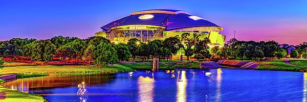 Vibrant Cowboys Stadium Panorama - Arlington Texas Photograph