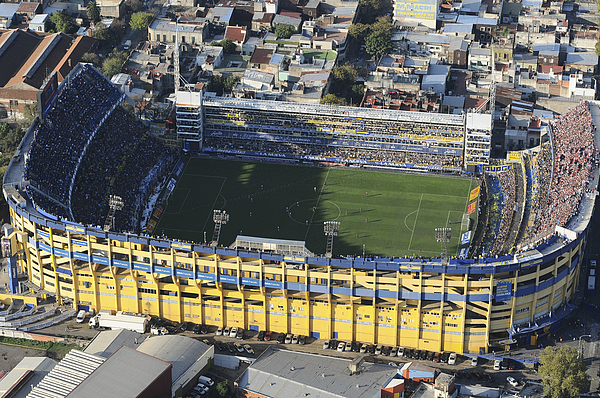 View of Boca Juniors Stadium Photograph by Amilcar Orfali