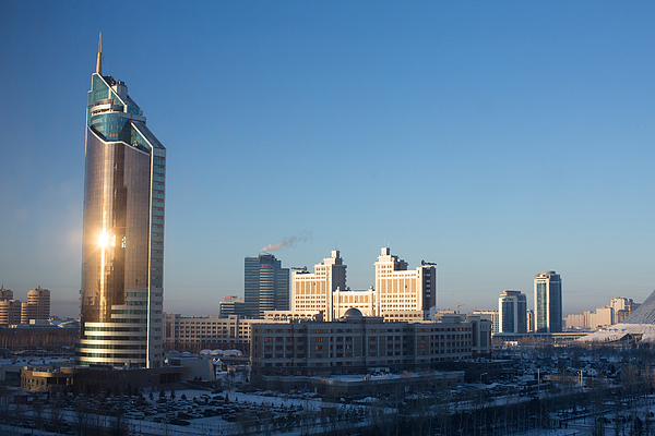 Views Of The Kazakh Capital And Retail Operations Amid Economic Downturn Photograph by Bloomberg