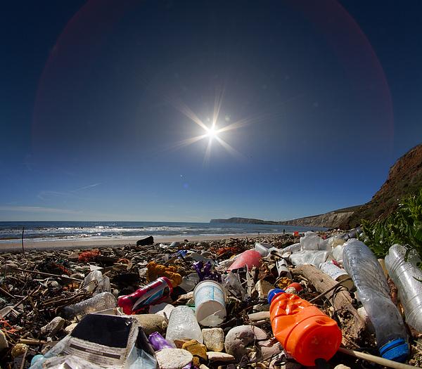Waste on beach Photograph by s0ulsurfing - Jason Swain