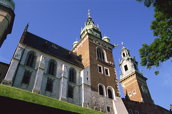 Wavel Hill, Royal Castle, Old Town, Krakow, Poland Photograph by Dallas and John Heaton