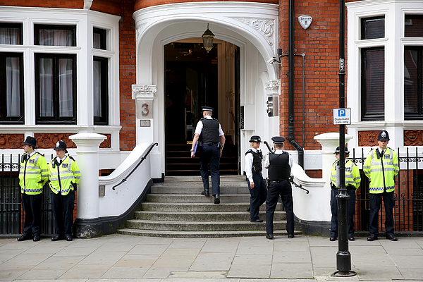 WikiLeaks Founder Julian Assange Plans To Leave The Ecuadorian Embassy Photograph by Oli Scarff