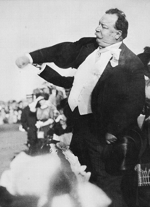 William H Taft First First Ball 1910 Photograph by Transcendental Graphics