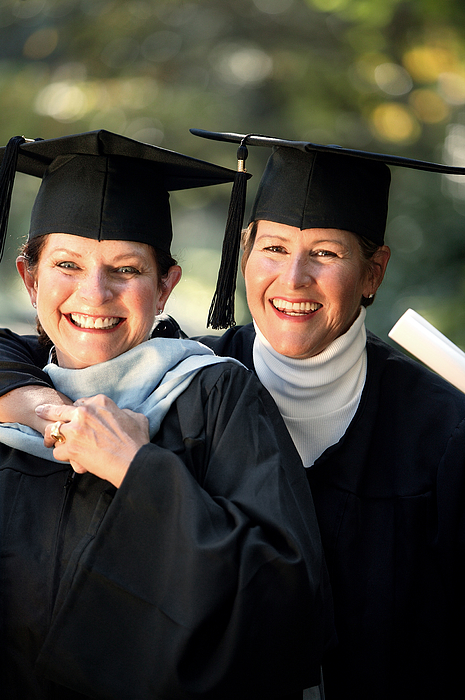 Women Graduates Photograph by Comstock Images