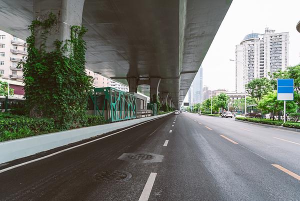Wuhan Urban Viaduct Photograph by Jia Yu