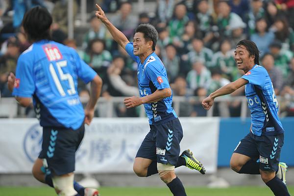 Yokohama FC v Matsumoto Yamaga FC - 2013 J.League 2 Photograph by Masashi Hara