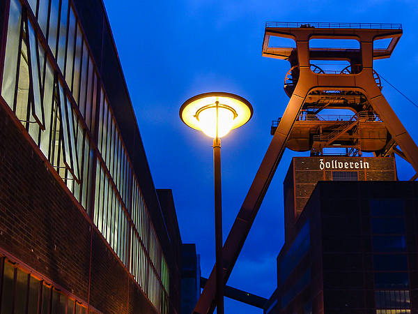 Zollverein Coal Mine Industrial Complex Photograph by Frans Sellies