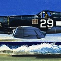 Into The Blue American War Planes by Wilf Hardy