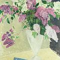 Lilacs by Glyn Warren Philpot