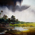 Monsoon Village  by Samiran Sarkar