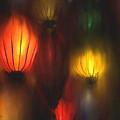 Orange Lantern by Stephen Lucas