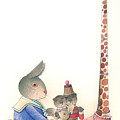 Rabbit Marcus The Great 23 by Kestutis Kasparavicius