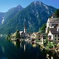 Riverfront  Reflection Austria by Heinz G Mielke