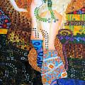 Water Serpents Reply By Gustav Klimt by Gabriela Stavar