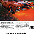 1970 Chevrolet Chevelle Ss 396 by Digital Repro Depot