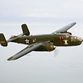 A North American B-25 Mitchell by Scott Germain