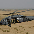A U.s. Air Force Hh-60 Pavehawk Flies by Stocktrek Images