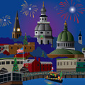 Annapolis Holiday by Joe Barsin