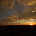 Badlands Sunset by Chris Brewington Photography LLC