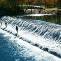 Bennett Springs Spillway by Sara  Raber
