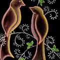 Bird Doodle by Karen R Scoville