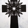 Black Butterfly-cross by Tong Steinle