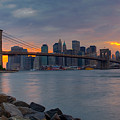 Brooklyn Sunset by David Hahn