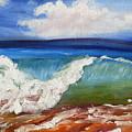 California Seascape by Mary Jo Zorad