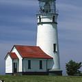 Cape Blanco Lighthouse by Sandra Bronstein