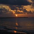 Caribbean Early Sunrise by Douglas Barnett