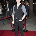 Chris Colfer At Arrivals For American by Everett