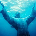 Christ At Sea by Renee Shular